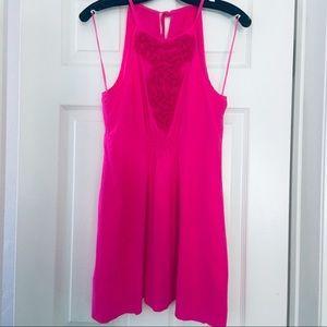 Trina Turk Hot Pink Minidress